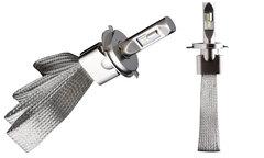 Комплект LED ламп головного света H4 H/L (гибкий кулер) ULTRA BRIGHT 5500k VIPER