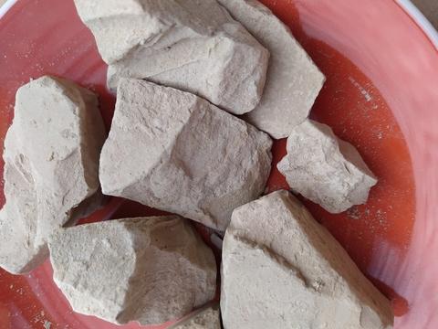 Глина Киргизская Коричневая соленая