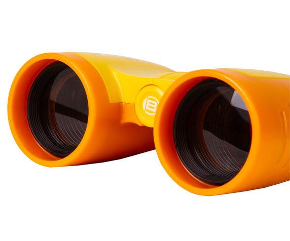 Бинокль детский Bresser Junior 3x30 желтый - фото 5 - объективы