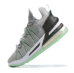 Nike LeBron 18 'Grey/Green/Black'