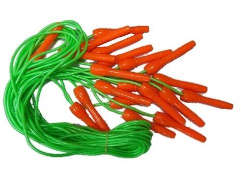 Скакалка (шнур резина, ручки пластик) 2,5м (122Н) 07702 (3474)