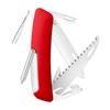 Швейцарский нож SWIZA D06 Standard, 95 мм, 12 функций, красный