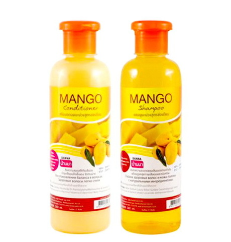 Шампунь и кондиционер для волос Манго, Banna. 2х360 мл