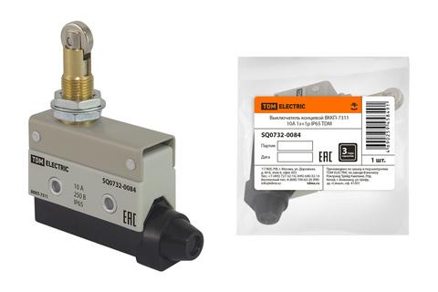 Выключатель концевой ВККП-7311 10А 1з+1р IP65 TDM