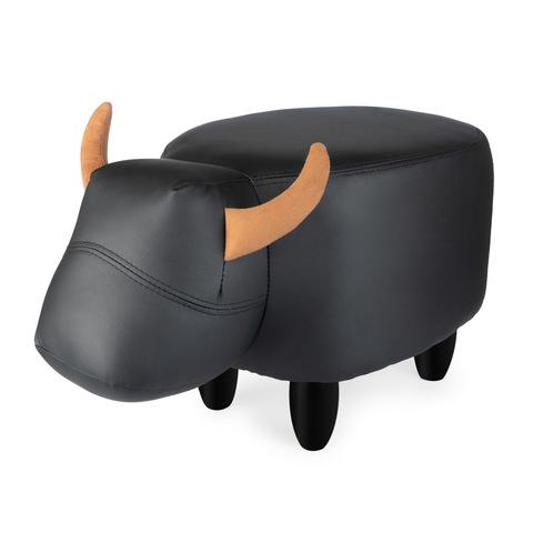 Пуф дизайнерский La Vache черный