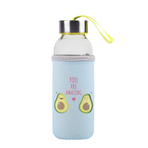 Бутылка для воды (стекло) Amazing, 0.3 л
