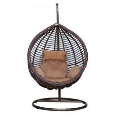 Подвесное кресло среднее Kvimol КМ-0021 Brown