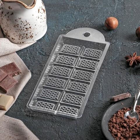 Форма для шоколада 7×15×1 см