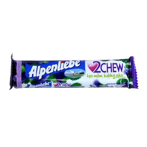 Жевательные конфеты Alpenliebe grape 24,5 гр
