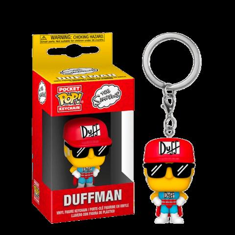 Брелок Funko POP! Keychain Simpsons: Duffman || Даффмен