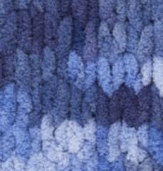 Пряжа Alize Puffy Color цвет 6084