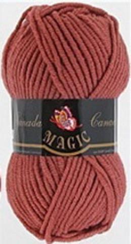 Пряжа Canada (Magic) 3717 Розовый коралл фото