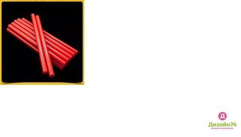 Клеевой стержень Красный 11 мм 1шт