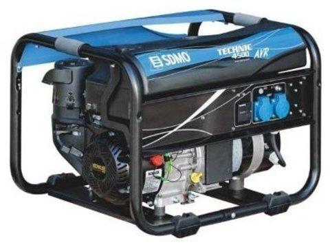 Кожух для бензинового генератора SDMO SH4500 AVR (4000 Вт)