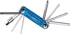 Мультитул велосипедный BBB PrimeFold S Blue/Silver