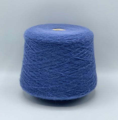 Бобинная пряжа (пр.Италия),art.Royal silk, 420 м / 100 гр. 30%полиамид 20%шелк малберри 50%бэби альпака ,цвет-Синяя пыль , арт.9574