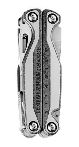 Мультитул Leatherman Charge TTi, 19 функций, кожаный чехол (подарочная упаковка)