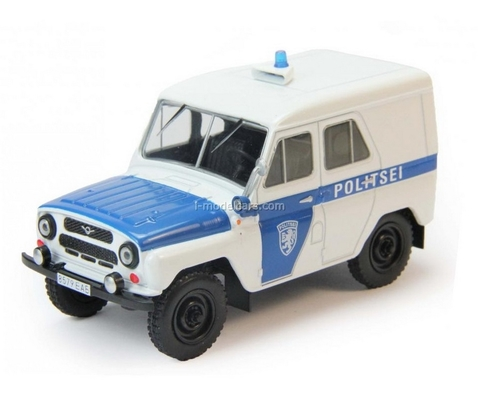 UAZ-469 Politsei Estonia 1:43 DeAgostini World's Police Car #74