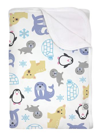 Детское одеяло орг.хлопок, Snowland