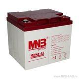 Аккумулятор для ИБП MNB MM 45-12 (12V 45Ah / 12В 45Ач) - фотография
