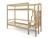 Кровать двухъярусная SVOGEN массив сосны
