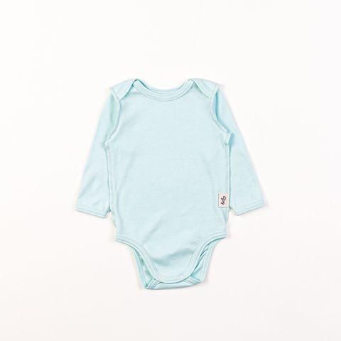 Long-sleeved bodysuit 0+, Mint