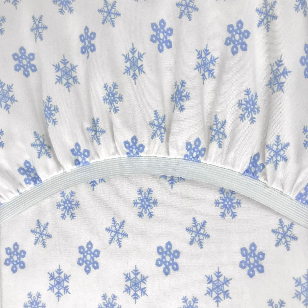 PREMIUM морозко - Детская круглая простыня на резинке диаметр 75