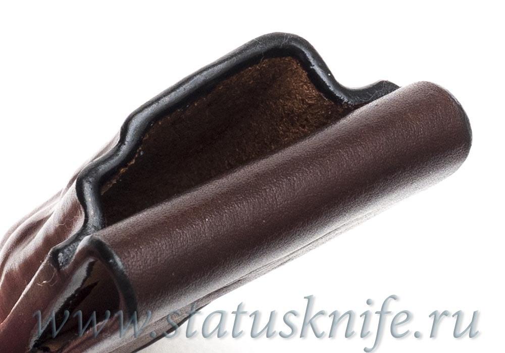 Чехол кожаный коричневый ZT 0562 - фотография