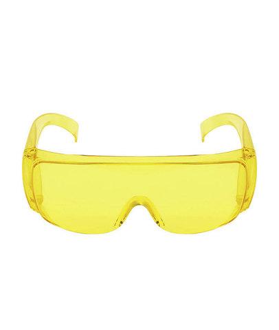 Пластиковые защитные очки. Аритикул ЗЖ. Вид фас.