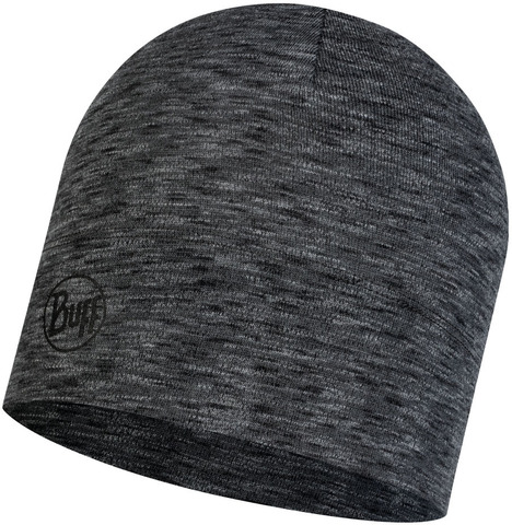 Шерстяная шапка Buff Hat Wool Midweight Graphite Multi Stripes фото 1