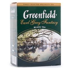 Чай чёрный листовой Greenfield Earl Grey Fantasy 100г