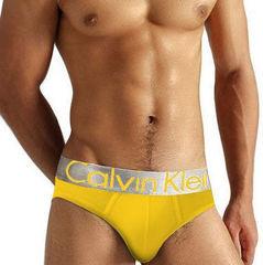 Мужские трусы брифы Calvin Klein Brief Steel Yellow