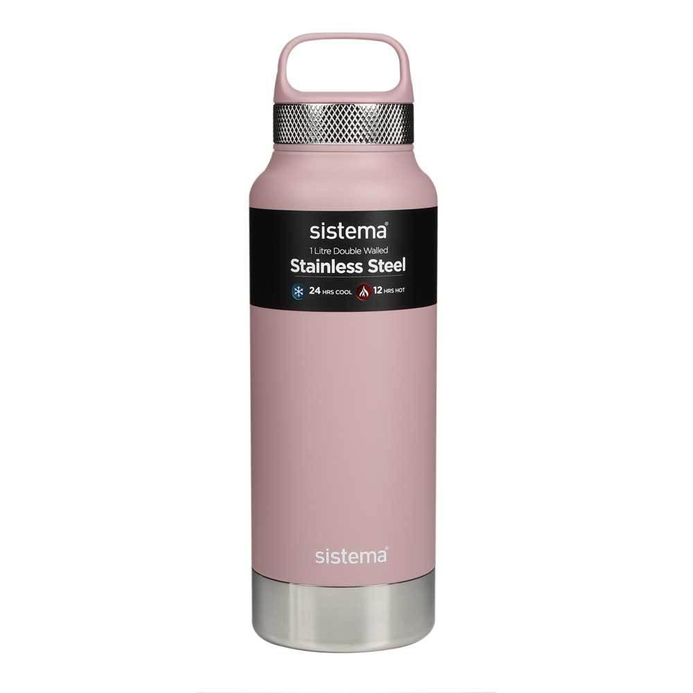 """Термобутылка Sistema """"Hydrate"""" 1 л, цвет Розовый"""
