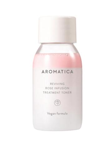 Омолаживающий тонер  с экстрактом розы AROMATICA Reviving Rose Infusion Treatment Toner 30мл