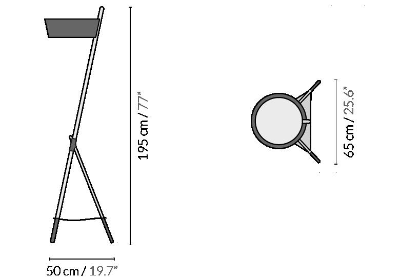 Напольный светильник KA XL Essential - вид 7