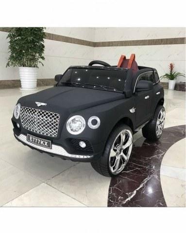 Детский электромобиль Rivertoys Bentley Е777КХ черный матовый