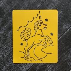 Трафарет №15 Единорог