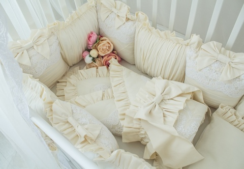 Бант на одеяло- конверт Vanilla