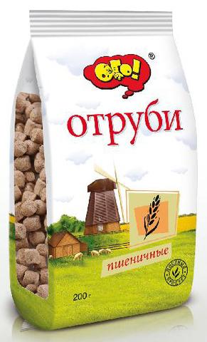 Отруби ОГО пшеничные 200г