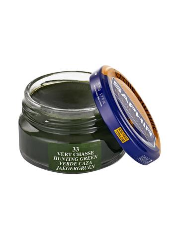 Крем для обуви гладкой кожи, банка, Saphir Creme Surfine 50 мл, (82 цвета)