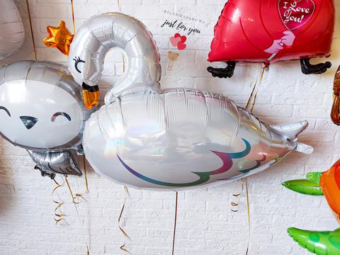 Воздушный шар лебедь