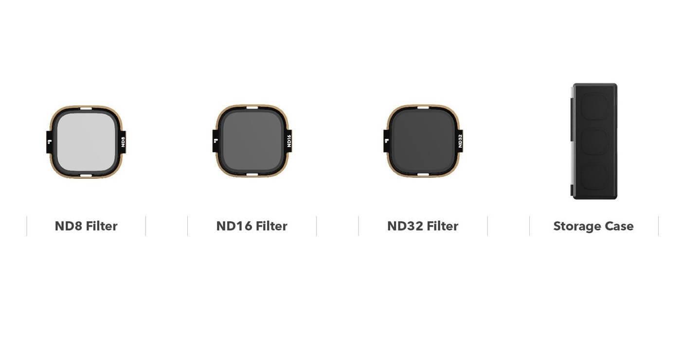 Набор фильтров PolarPro SHUTTER ROLLCAGE для HERO8