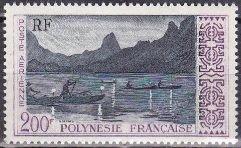Полинезия 1958 №13 **MNH