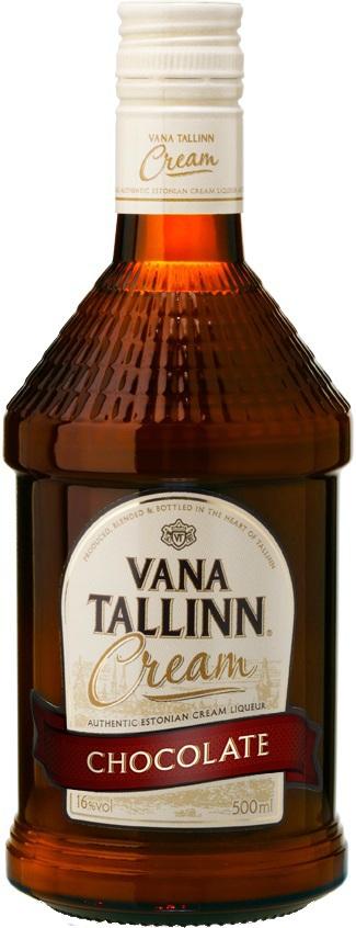 ЛИКЕР СТАРЫЙ ТАЛЛИНН (VANA TALLINN) ШОКОЛАДНЫЙ КРЕМ 0.5л 16%