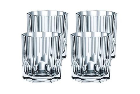 Набор низких стаканов для виски Nachtmann Aspen, 4 шт, 324 мл