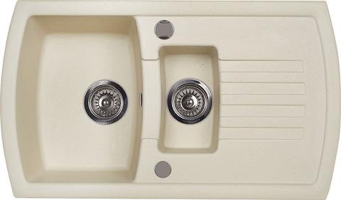 Мойка для кухни Kuppersberg ALBA 1,5B1D ECRU
