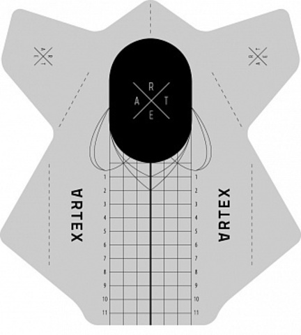 ARTEX Формы прямоугольные универсальные (средней жесткости) 500 шт. 07130015
