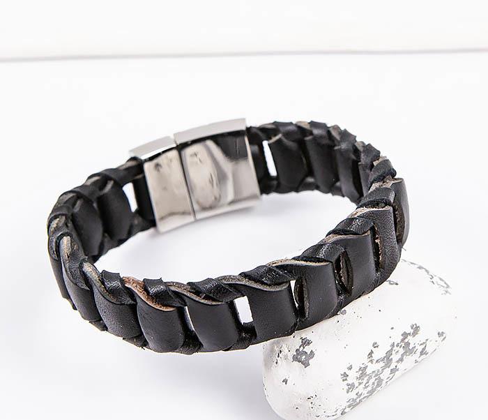 BL780-1 Оригинальный браслет со звеньями из натуральной кожи