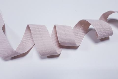 Эластичная бейка (косая бейка), 15 мм, серебристый пион
