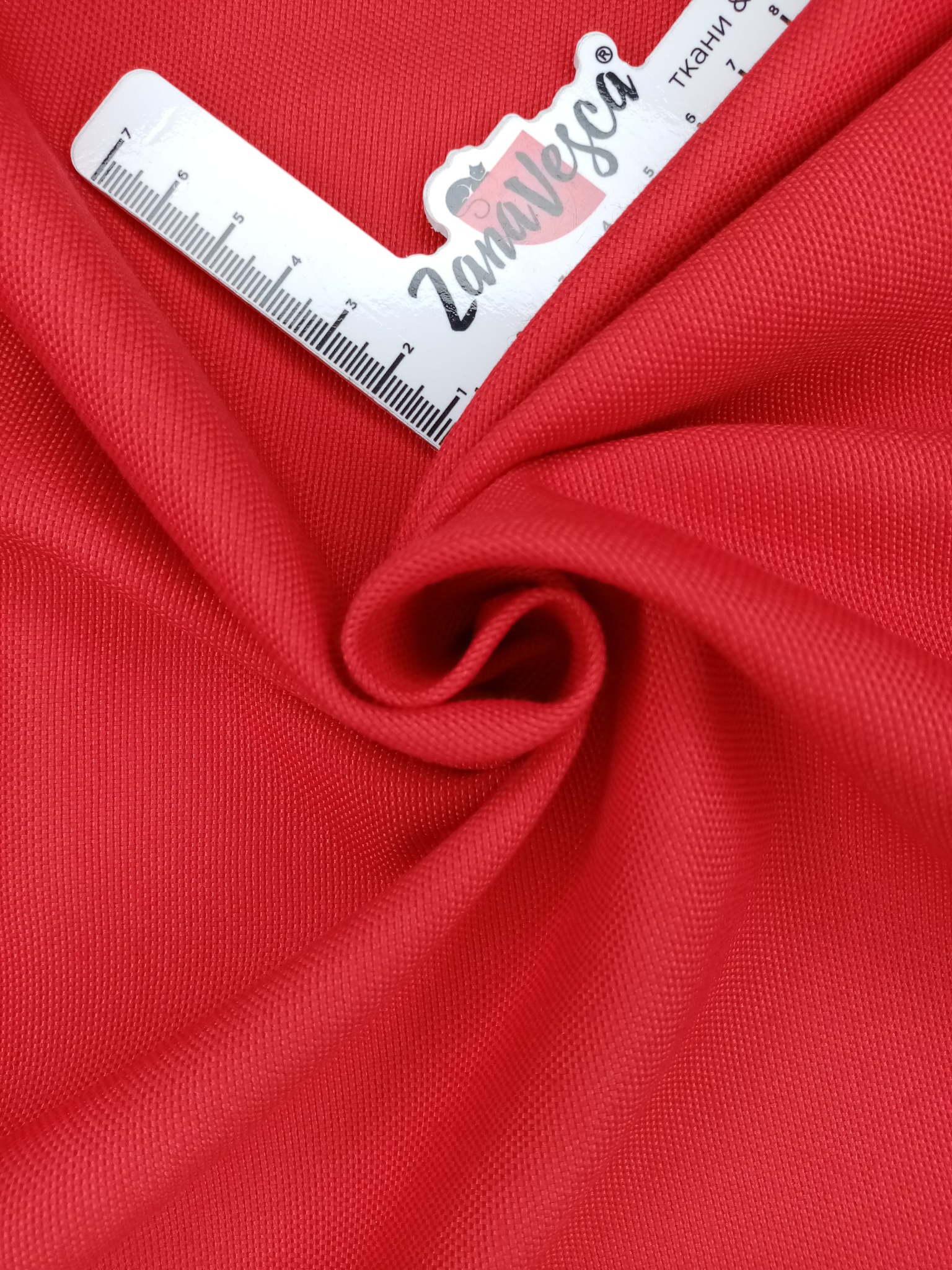 Ткань duck с тефлоновой пропиткой Красный